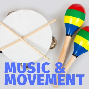 Pre-school Music & Mvt every Friday at 10:00 am